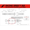 Fulcrum Achse Racing Speed/Red Wind XLR/0/1/3, RS-007...